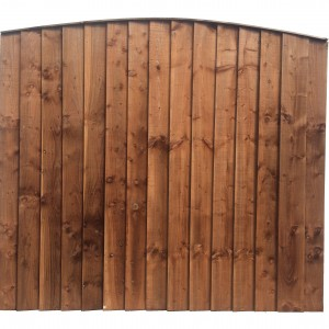 Arched Weather Board Panel Fences Sheds And Concrete