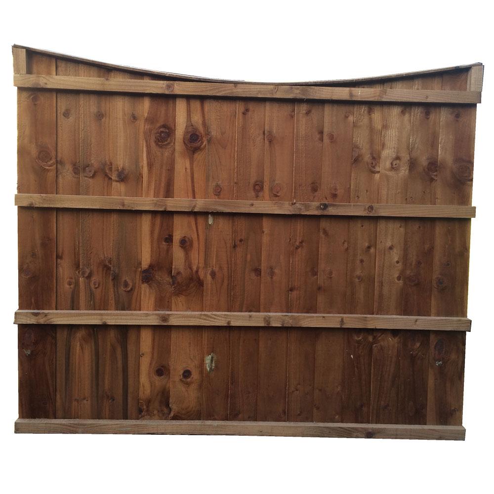 Scooped Weather Board Panel Bridge Fencing Ltd