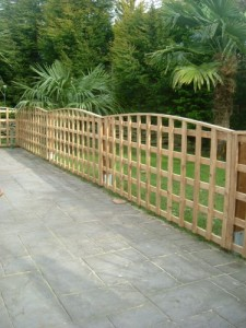 Arched Trellis Panels